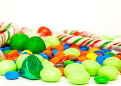 Holiday Candy Photography
