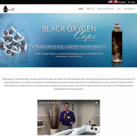 Black Oxygen Caps